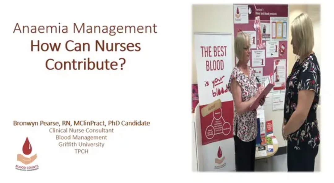 Anemia Prevention – Treatment Perspective Nurses