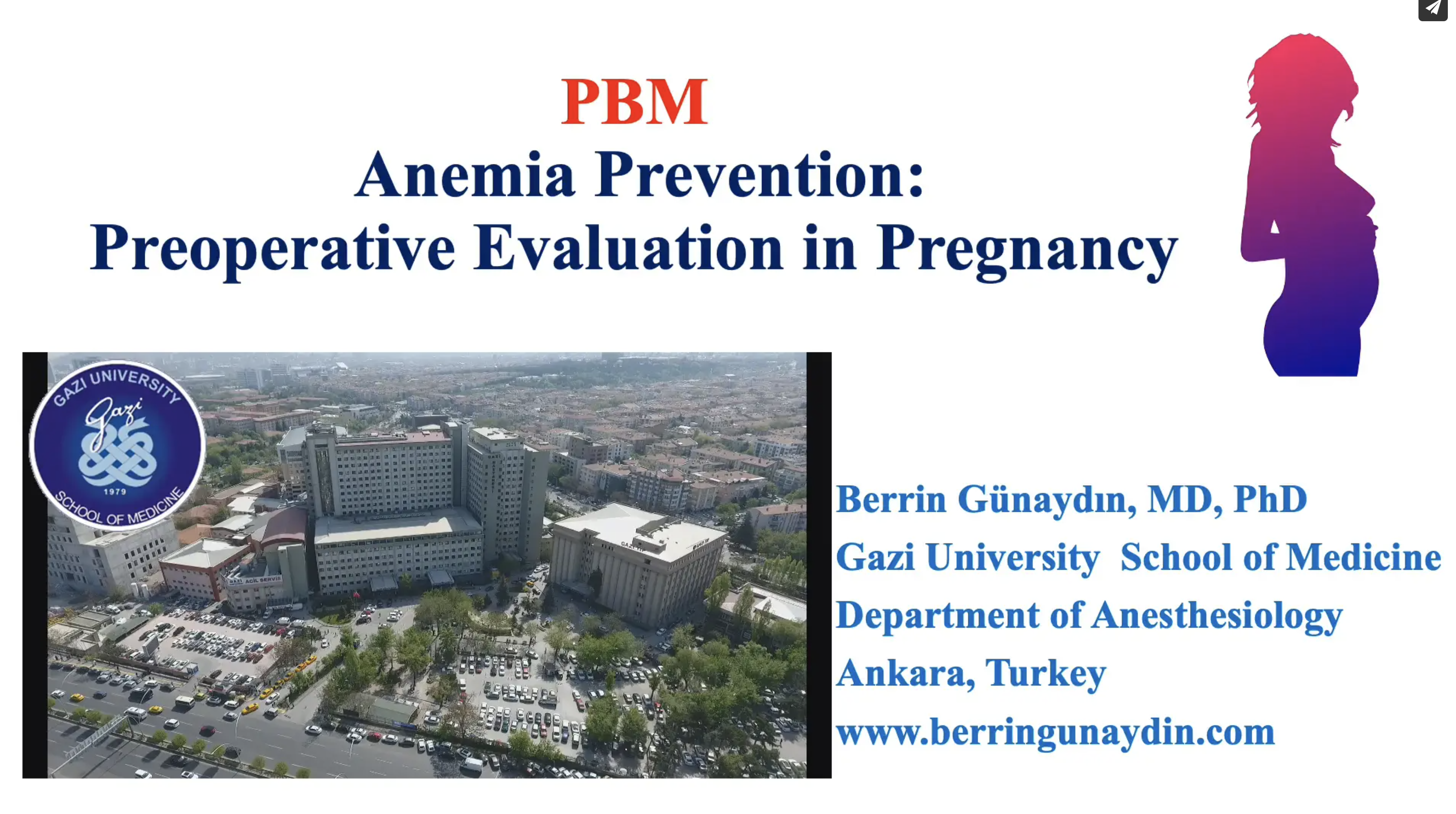 Anemia prevention before surgery – Preoperatıve Evaluatıon in Pregnancy