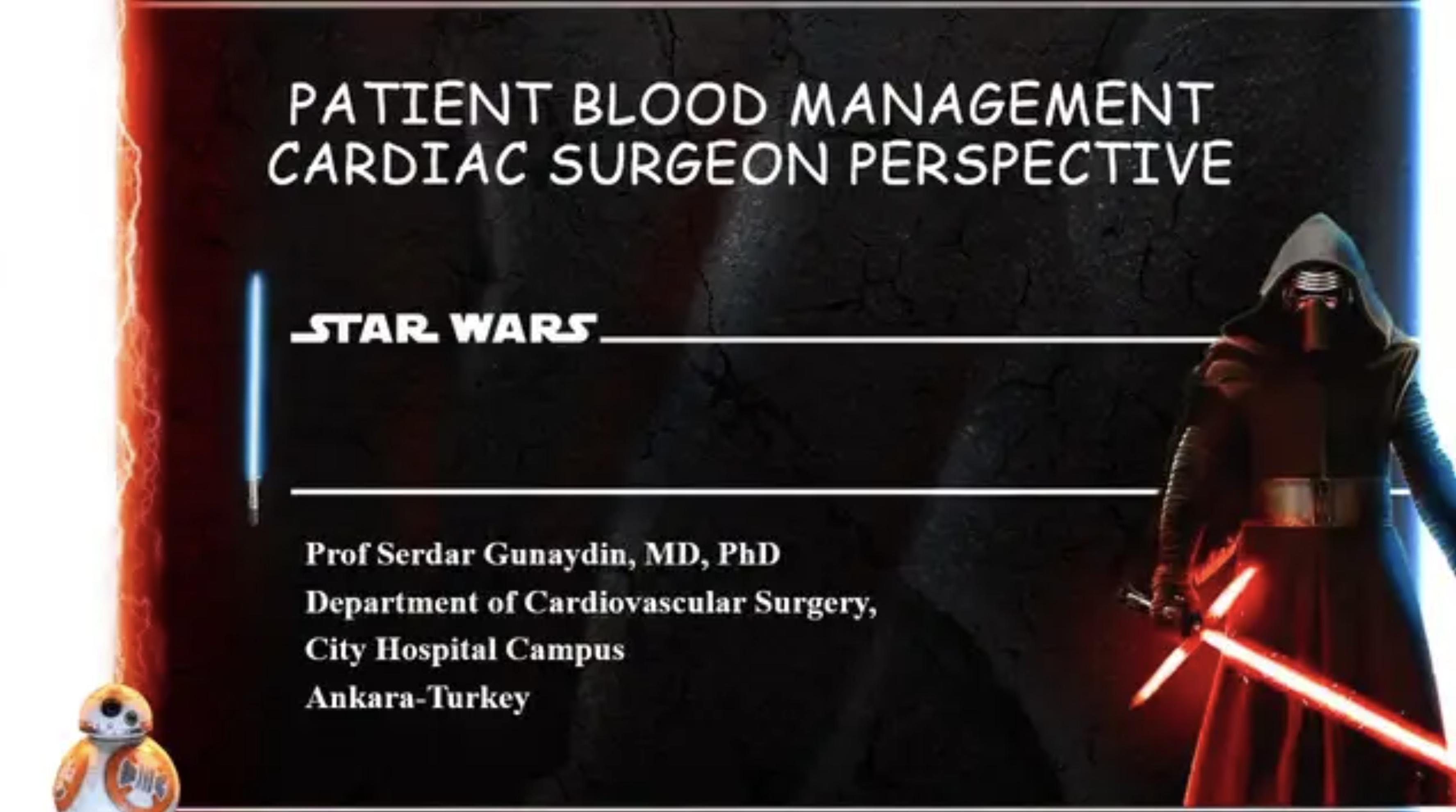 Patient Blood Management - A cardiac Surgeon's Perspective