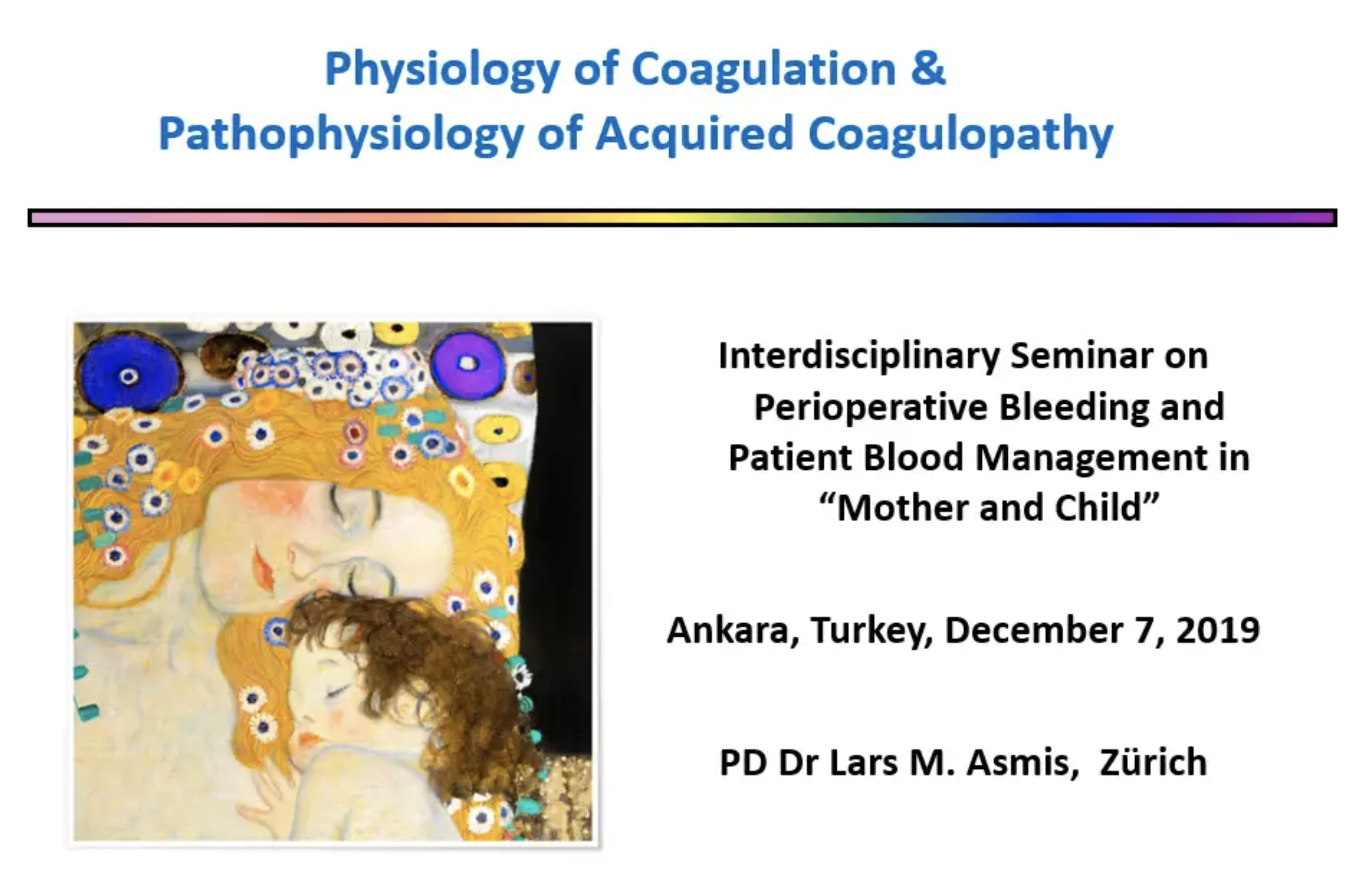 Physiology of Coagulation and Pathophysiology of Acquired Coagulopathy