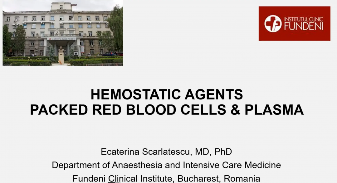 Scarlatescu_Hemostatic Agents-Packed Red Blood Cells and Plasma