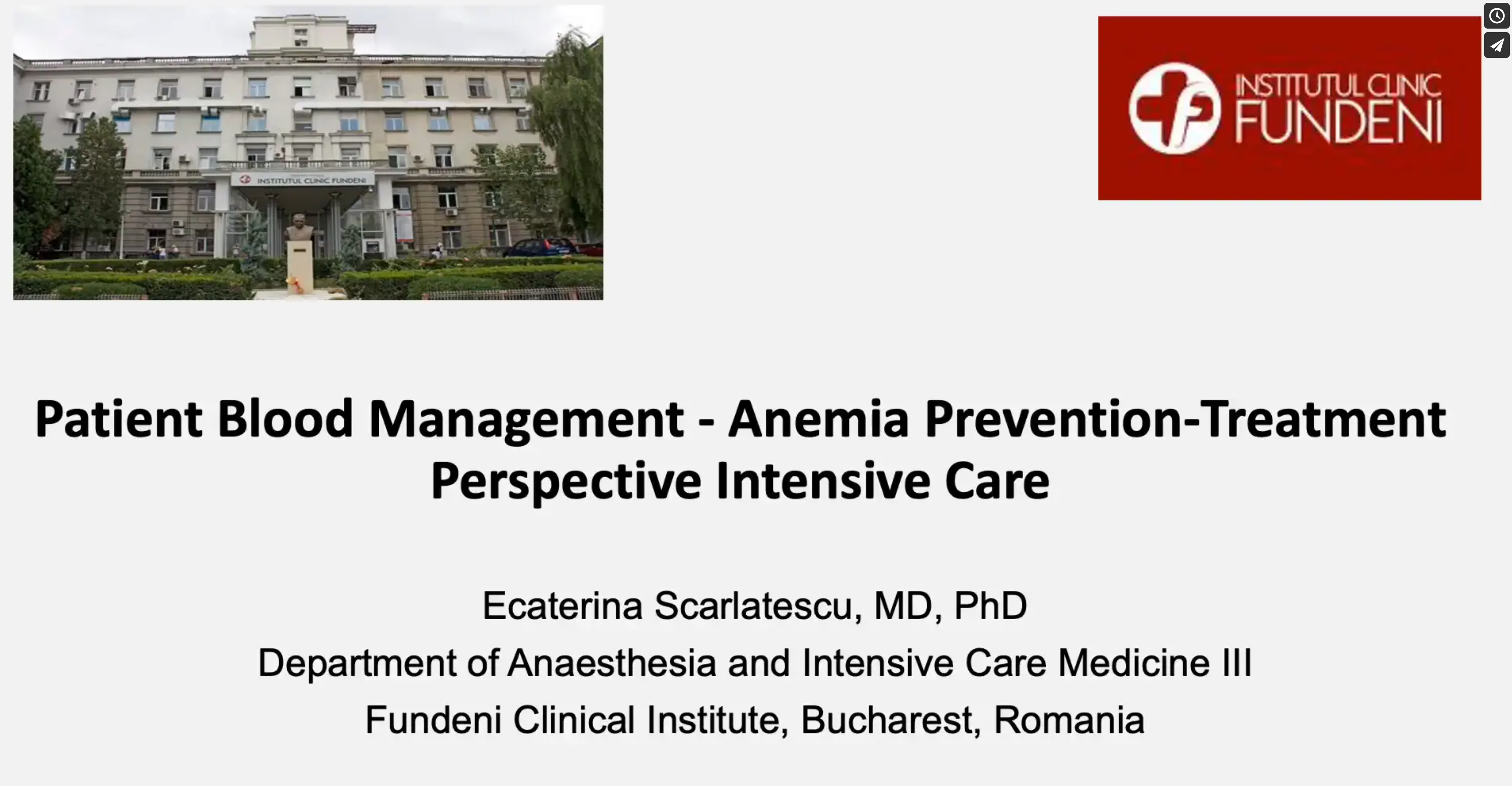 Anemia Prevention - treatment perspective ICU Katy