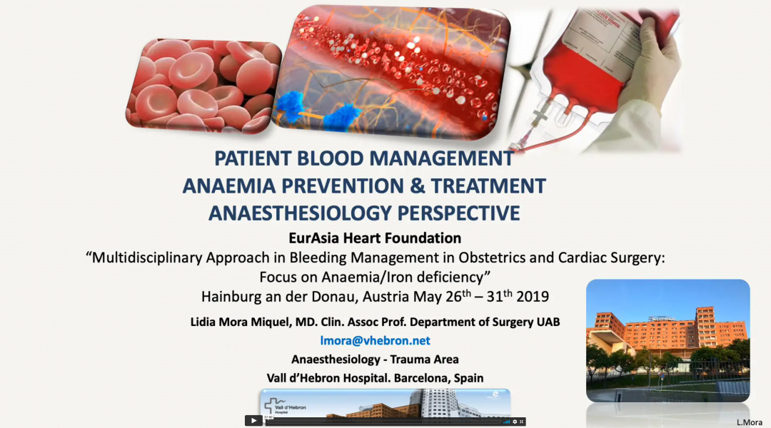 Anemia Prevention – Treatment Anesthesiology Perspective