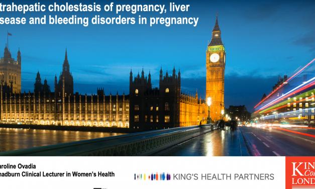 Intrahepatic cholestasis of pregnancy, liver disease and bleeding disorders in pregnancy