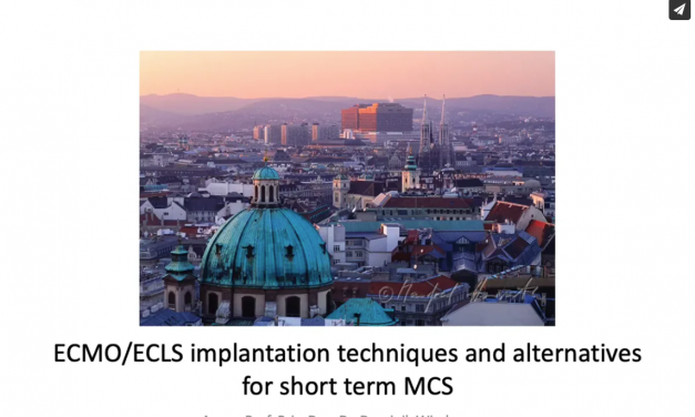 ECMO/ECLS implantation techniques and alternatives for short term MCS