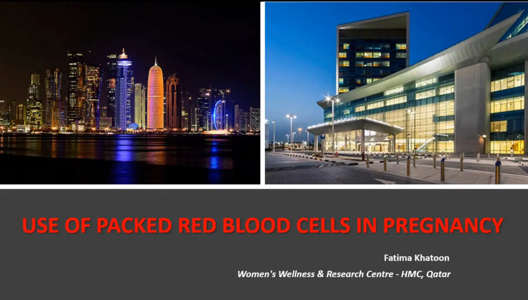 Use of Packed Red Blood Cells in Pregnancy