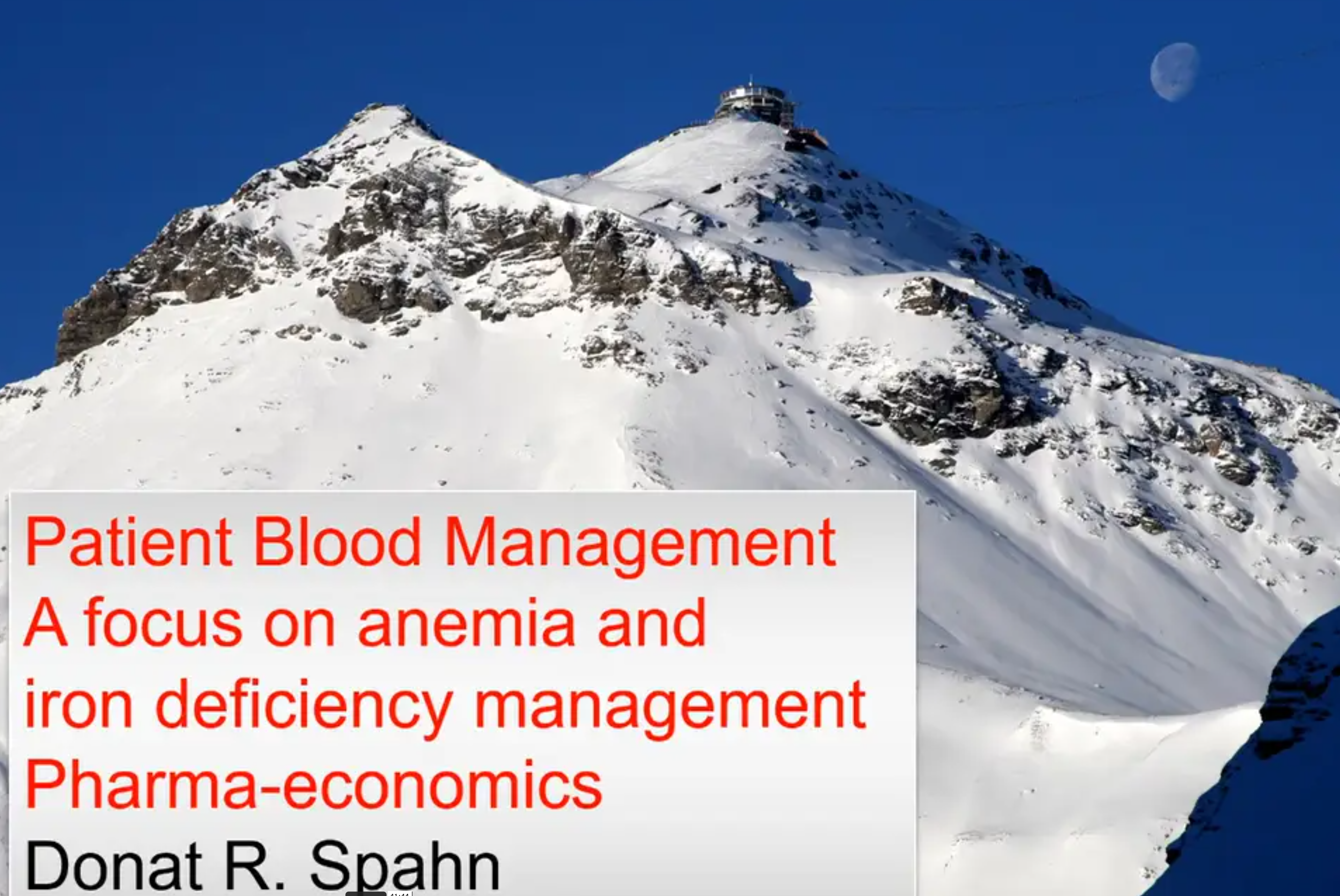 Spahn_PBM_A focus on anemia and iron deficiency management_Pharameconomics