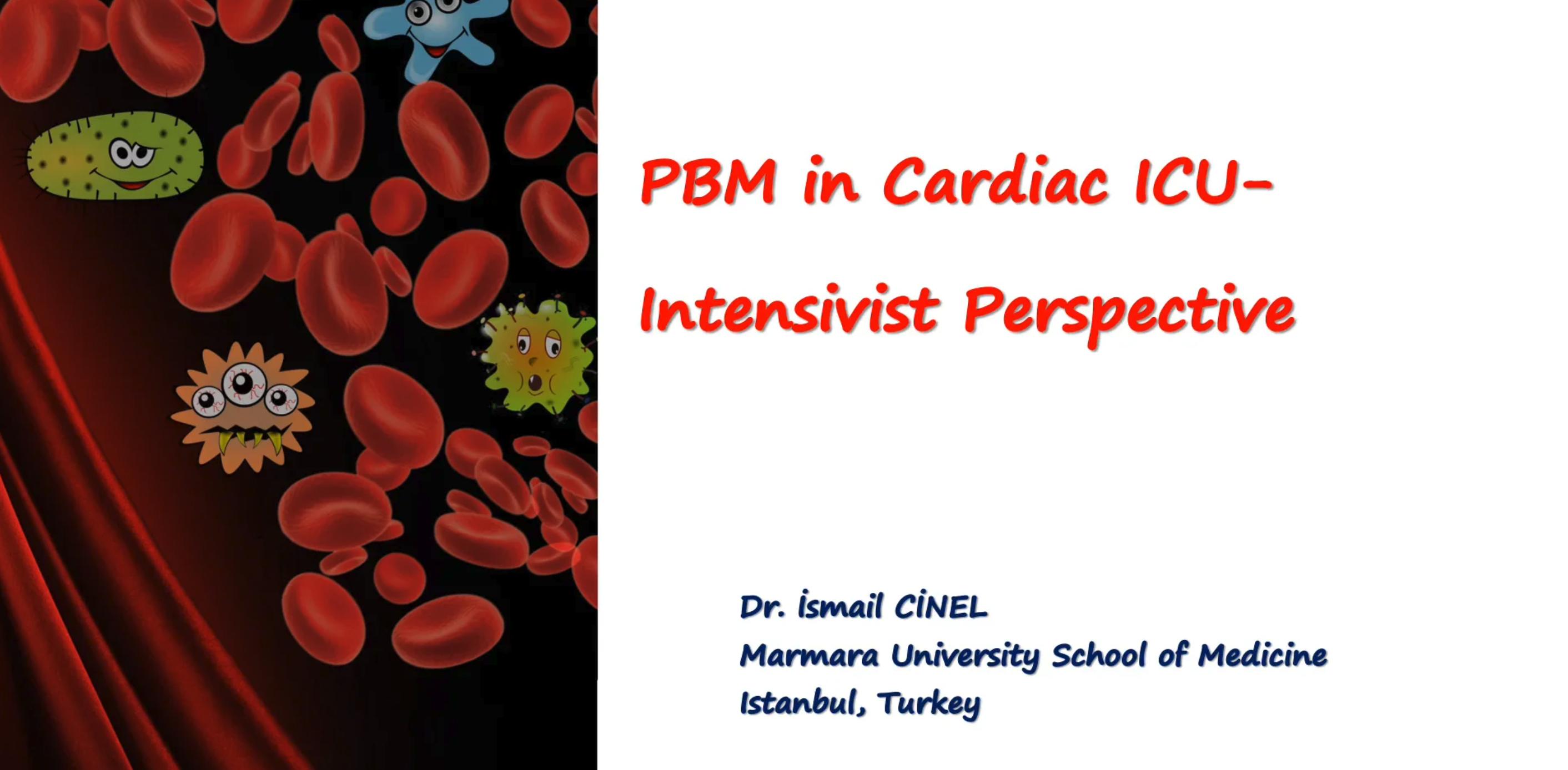 12_Cinel_PBM_Intensivist Perspective