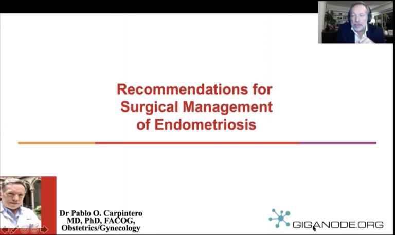 Recommendations for Surgical Management of Endometriosis
