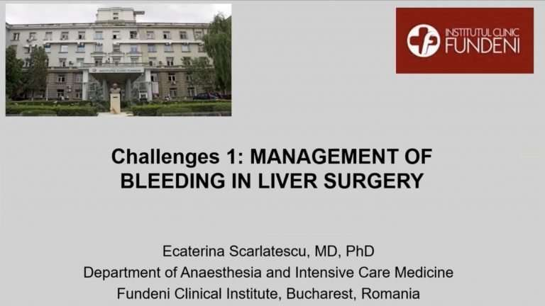 Management of Bleeding in Liver Surgery