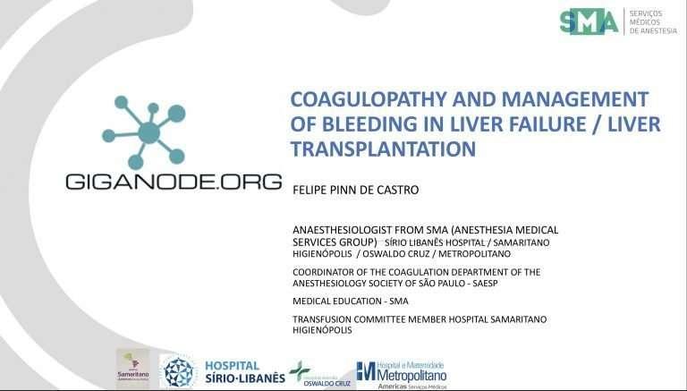 Felipe Pinn Coagulopathy and mgmt of bleeding in Liver Transplantation