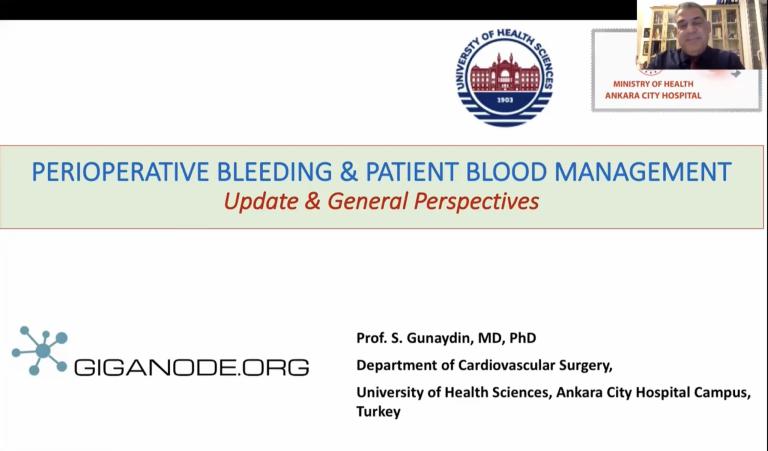 Perioperative Bleeding & Patient Blood Management
