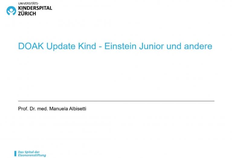 DOAK update Kind - Einstein Junior und andere albisetti