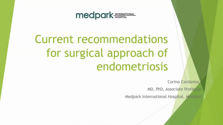 Current recommendations for Surgical Approach to Endometriosis